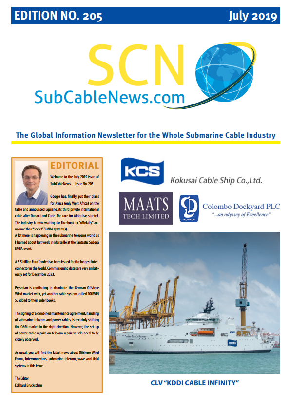 SubCableNews: News for the submarine cable market